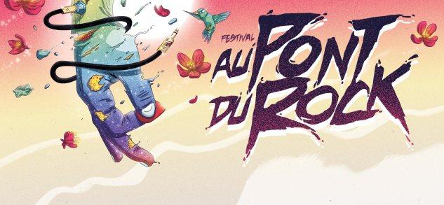 affiche festival pont du rock 2015